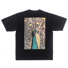 Load image into Gallery viewer, BetterTM Peacock Tee Black