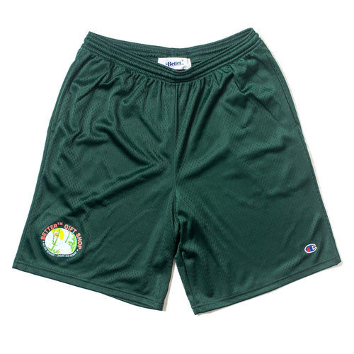 BetterTM Resort Mesh Shorts Forest Green
