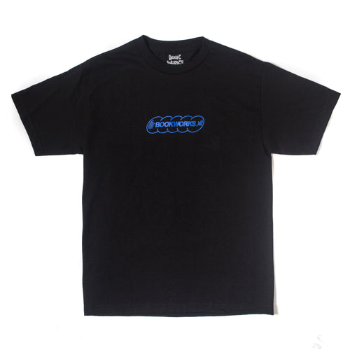 Book Works Black Record Tee