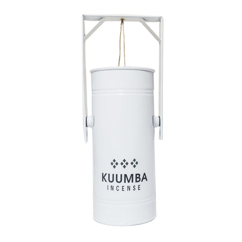 KUUMBA METAL CAN BURNER WHITE