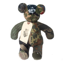 Load image into Gallery viewer, Kumanokuido Camo Teddy Bear 3