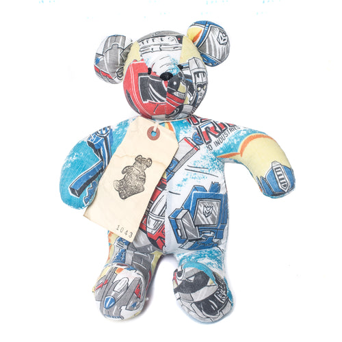 Kumanokuido Transformers Teddy Bear 1