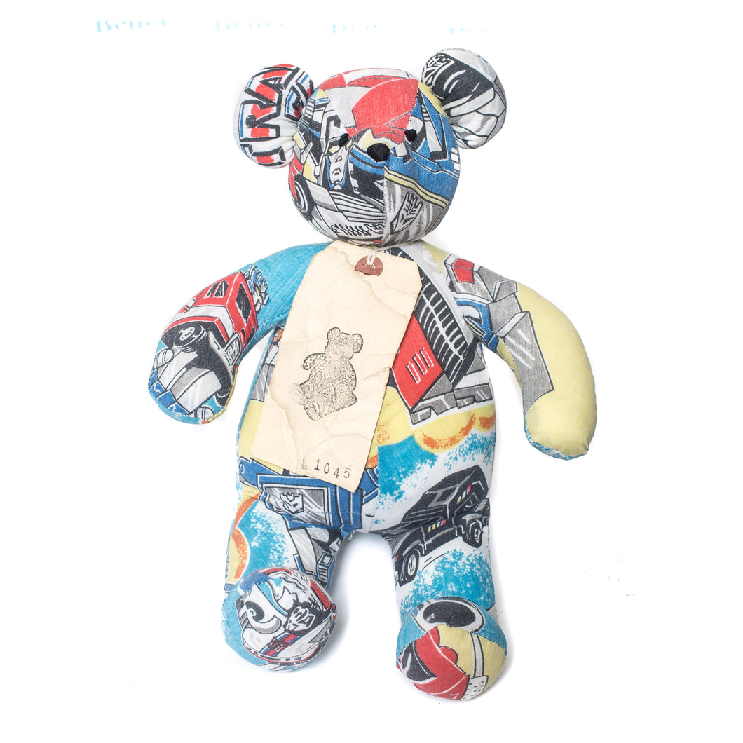Kumanokuido Transformers Teddy Bear 2