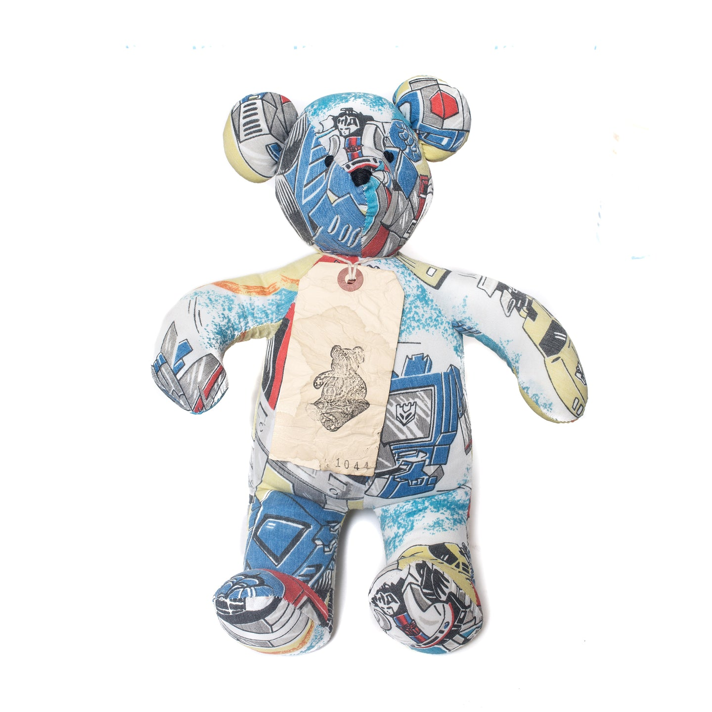 Kumanokuido Transformers Teddy Bear 3