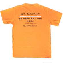 "Load image into Gallery viewer, Sci-Fi Fantasy - ""Peach"" S/S Industrial Tee"
