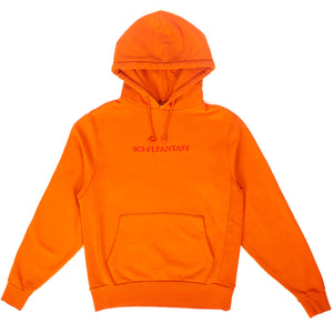 "Sci-Fi Fantasy - ""Burnt Orange"" Logo Hoodie"