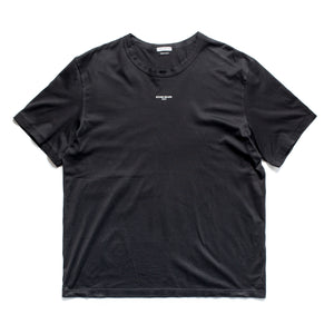 A/W 2005 Black SI Italy Spellout T-Shirt