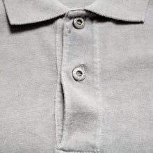 Load image into Gallery viewer, S/S 1989 Grey Compass Embroidered Polo Shirt