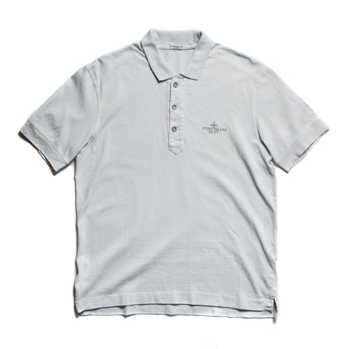 S/S 2007 Light Blue 25th Anniversary Reflective Polo Shirt