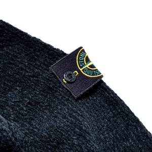 A/W 2001 Black Chenille HighNeck Jumper