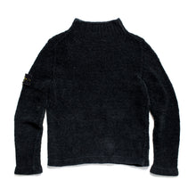 Load image into Gallery viewer, A/W 2001 Black Chenille HighNeck Jumper