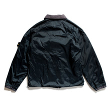 Load image into Gallery viewer, A/W 2000 Navy Nylon Fleeced Sports Jacket