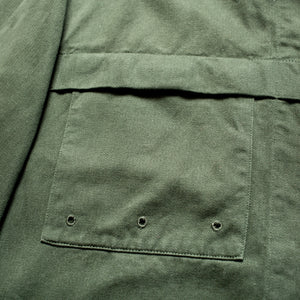 A/W 1996 Green Brushed Cotton Overshirt