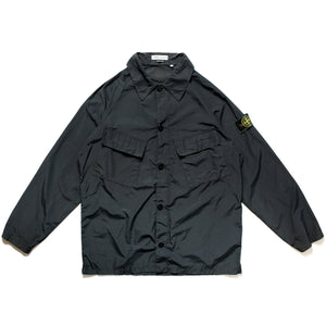 S/S 1998 Navy Shimmer Pocketed Overshirt