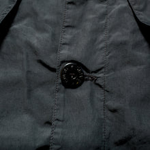 Load image into Gallery viewer, S/S 1998 Navy Shimmer Pocketed Overshirt