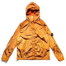 Load image into Gallery viewer, S/S 2008 Orange Shimmer Nylon Hooded Jacket