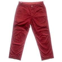 Load image into Gallery viewer, A/W 2001 Deep Burgundy Straight Trousers