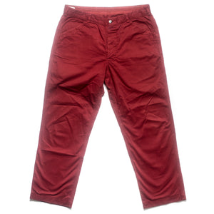 A/W 2001 Deep Burgundy Straight Trousers