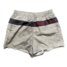 Load image into Gallery viewer, S/S 1995 Grey Wash Red Stencil Spellout Trunks