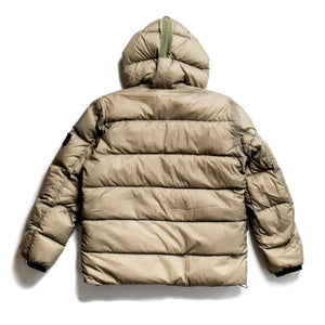 A/W 2009 Reversible Stitched Olive Green Puffa Jacket