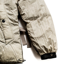 Load image into Gallery viewer, A/W 2009 Reversible Stitched Olive Green Puffa Jacket