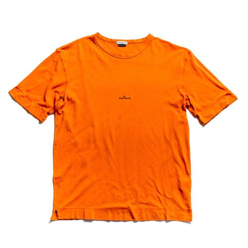 S/S 2004 Orange Compass Spellout Lite T-Shirt