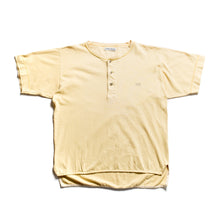 Load image into Gallery viewer, S/S 1990 Yellow Button Down Marina Spellout T-Shirt