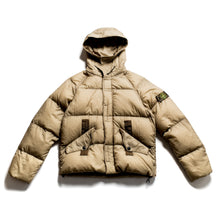 Load image into Gallery viewer, A/W 2005 Khaki Opaque Nylon Tela Goose Down Puffa Jacket