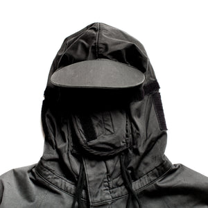 "A/W 2005 Navy Raso Floccato ""Riot Mask"" Jacket"