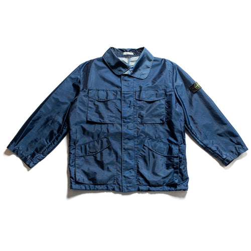 S/S 1996 Blue Shimmer Formula Steel Nylon Jacket