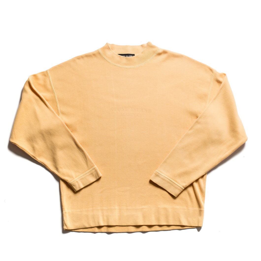 S/S 1988 Yellow Marina Imprint Spellout Jumper