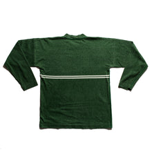 Load image into Gallery viewer, S/S 1987 Green Stripe Stencil Spell LongSleeve T-Shirt