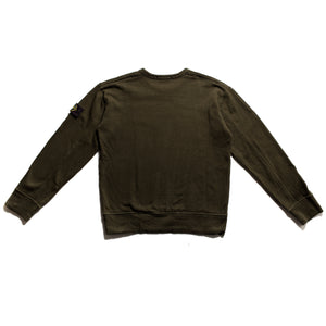 A/W 2004 Dark Olive Green Stitched Jumper