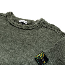 A/W 1996 Green Mixed Chenille Jumper