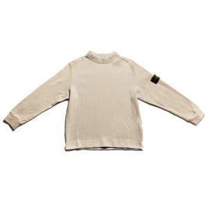 A/W 2001 Cream Wool Mix MockNeck Jumper