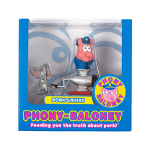 "Load image into Gallery viewer, Phony-Baloney ""Pork Grinds"" Action Figure by Seen"