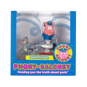 "Phony-Baloney ""Pork Grinds"" Action Figure by Seen"