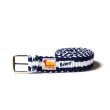Load image into Gallery viewer, BetterTM Handwoven Belt Blue