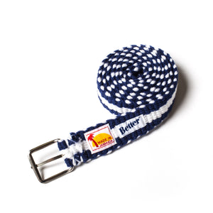 BetterTM Handwoven Belt Blue