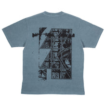"CAV EMPT - ""Defilement Frame"" Overdye Blue T-Shirt"