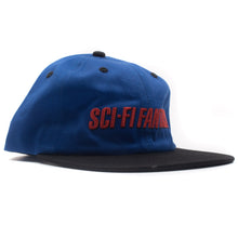 "Sci-Fi Fantasy - ""Fast Logo"" Hat Royal/Black"