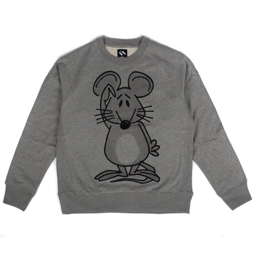 "The Trilogy Tapes - ""Mouse"" Heather Grey Crewneck"