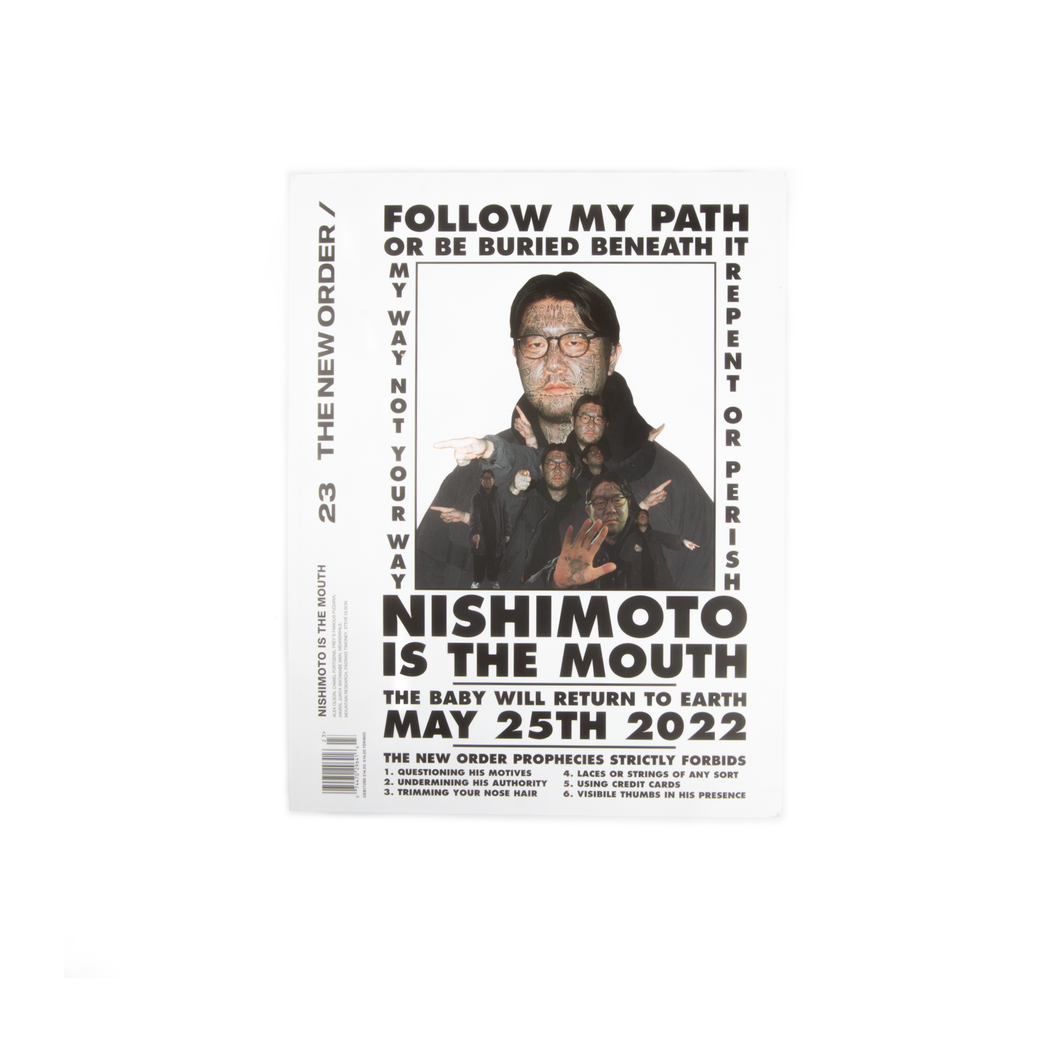 The New Order Magazine - Issue 23 Nishimoto Is The Mouth