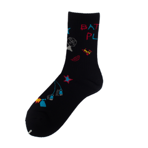 RWCHE BATTLE PLAN SOCK BLACK