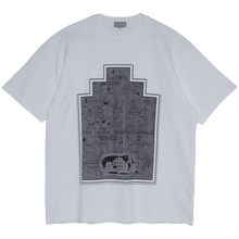 Load image into Gallery viewer, CAV EMPT World Map Ziggurat T White