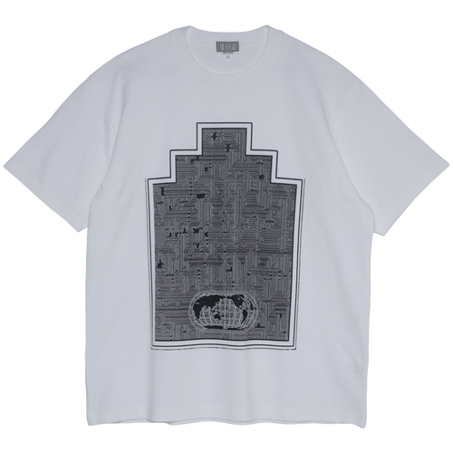 CAV EMPT World Map Ziggurat T White