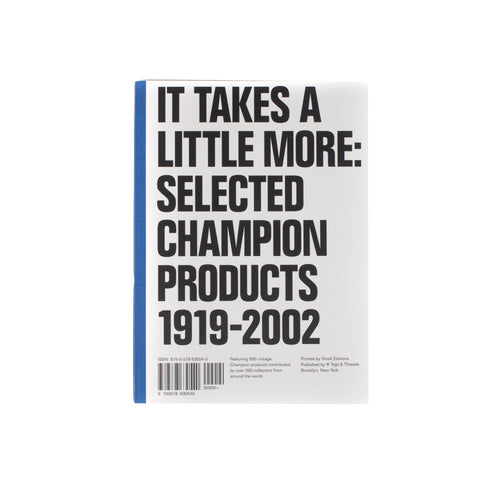 It Takes A Little More: Selected Champion Products 1919 - 2002 Book