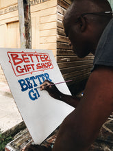 "Load image into Gallery viewer, Nurse Signs for Better™Gift Shop ""Do Better™"" White S/S Tee"