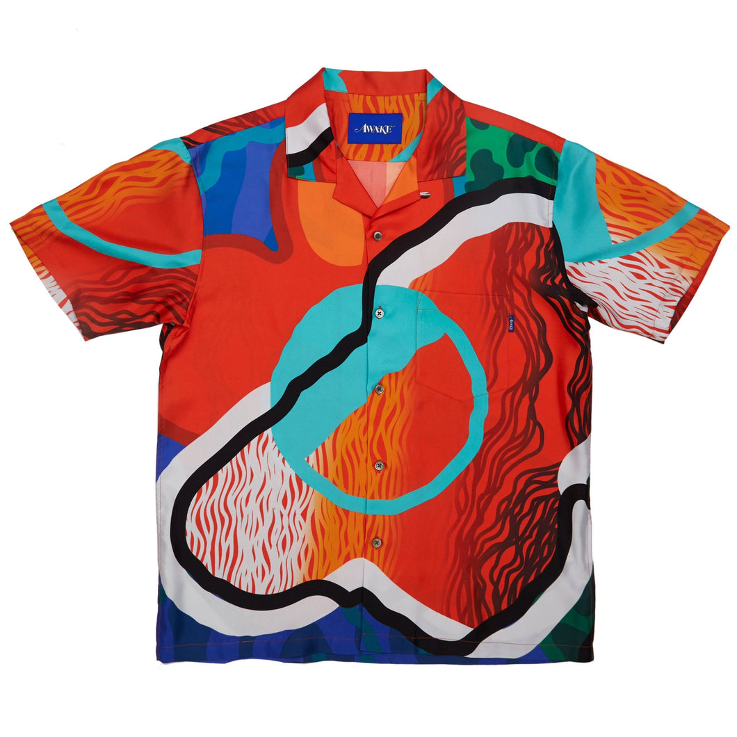 Awake NY - Sam Friedman Silk Camp Shirt