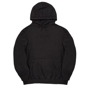 Awake NY - Embroidered Logo Hoodie Washed Black